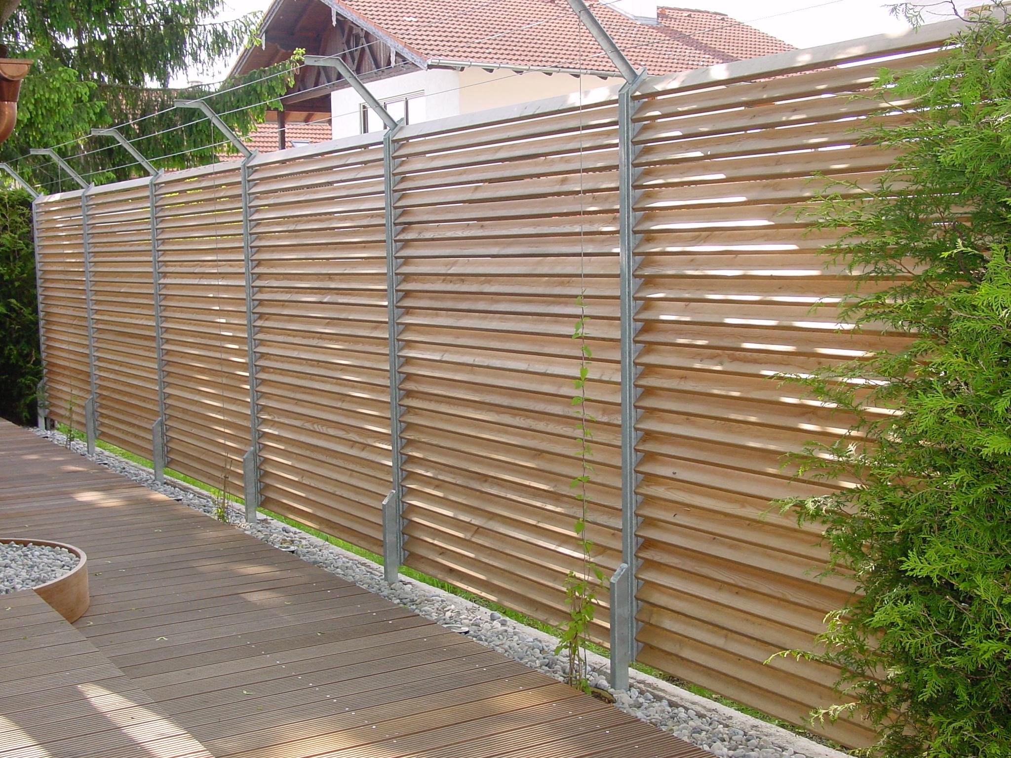 Terrasse mit Sichtschutz 20   Schreinerei Fichtner GbR – 836203 ...